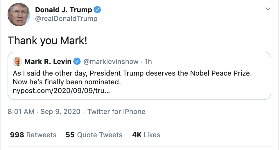 Screen-Shot-2020-09-09-at-8.06.55-AM Trump Erupts Into 7-Tweet Wednesday Morning Madness Election 2020 Featured National Security Politics Top Stories