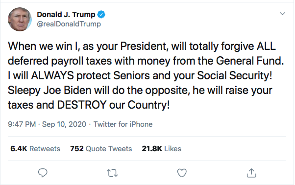 Screen-Shot-2020-09-10-at-10.00.11-PM Trump Announces Biden Plan To Immediately Confiscate Guns Coronavirus Donald Trump Election 2020 Featured Politics Top Stories Twitter