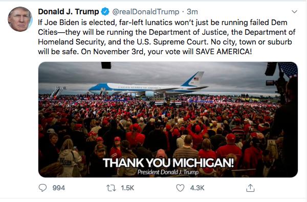 Screen-Shot-2020-09-10-at-10.01.02-PM Trump Announces Biden Plan To Immediately Confiscate Guns Coronavirus Donald Trump Election 2020 Featured Politics Top Stories Twitter
