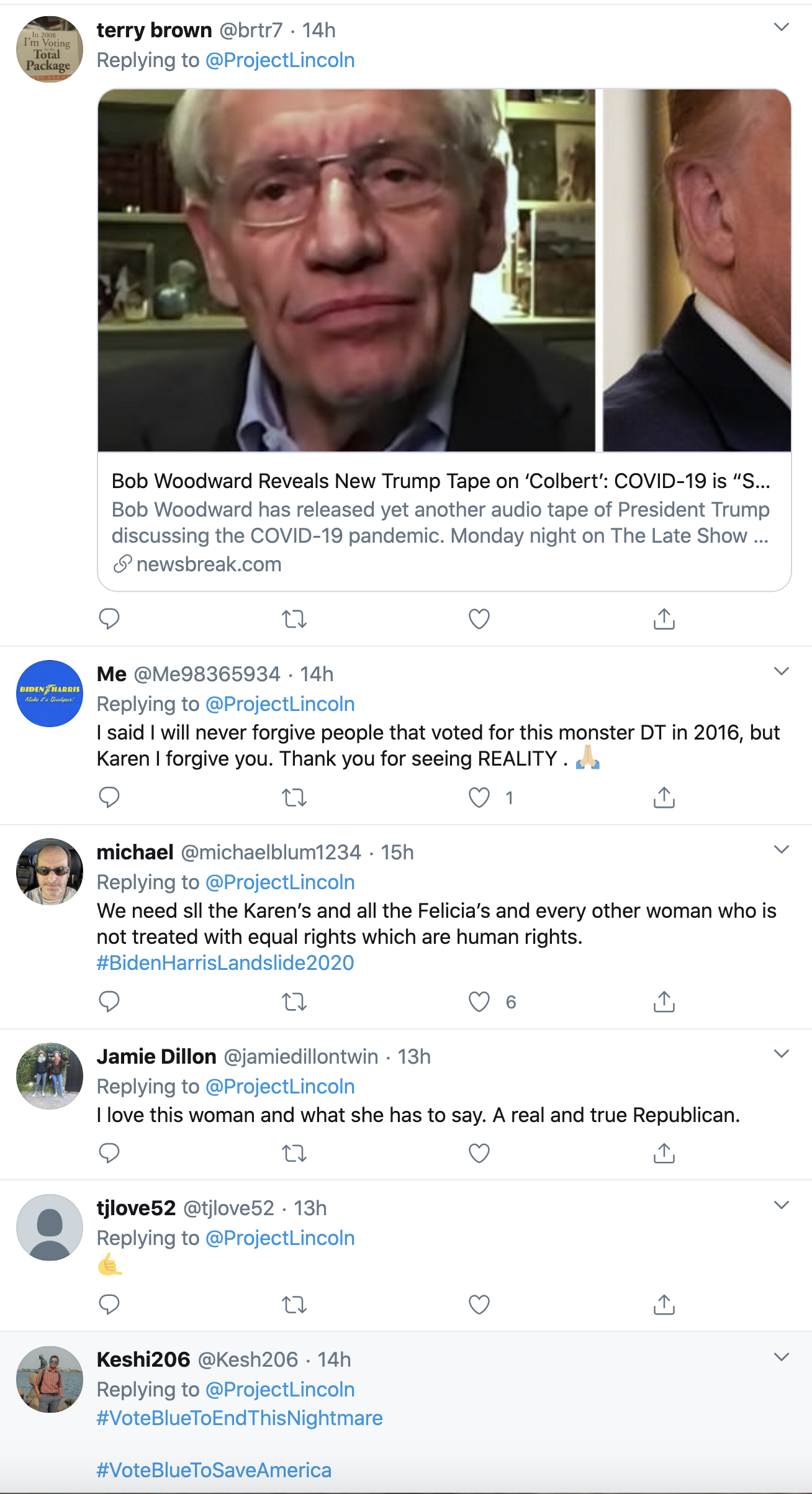 Screen-Shot-2020-09-16-at-8.47.41-AM 'The Lincoln Project' Highlights Former Trump Voters Leaving GOP Coronavirus Election 2020 Featured Politics Top Stories