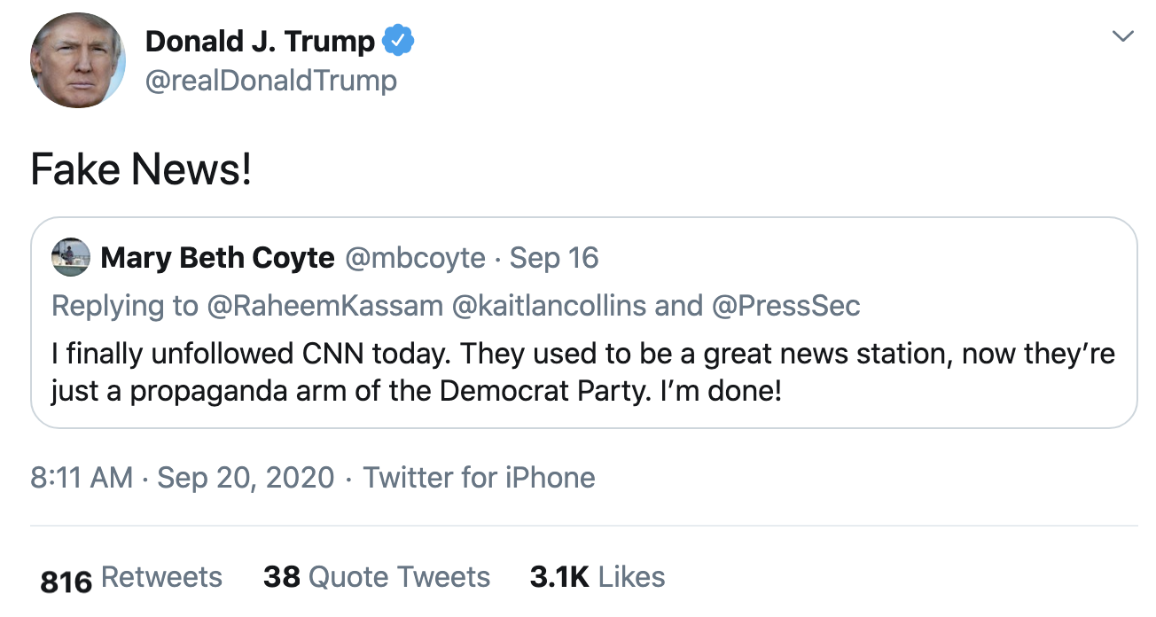 Screen-Shot-2020-09-20-at-8.16.28-AM Trump Fires-Off 14 Deranged Tweets During Sunday Morning Meltdown Conspiracy Theory Election 2020 Featured Politics Top Stories