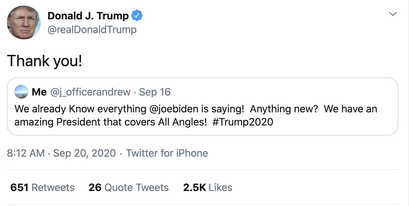 Screen-Shot-2020-09-20-at-8.17.15-AM Trump Fires-Off 14 Deranged Tweets During Sunday Morning Meltdown Conspiracy Theory Election 2020 Featured Politics Top Stories
