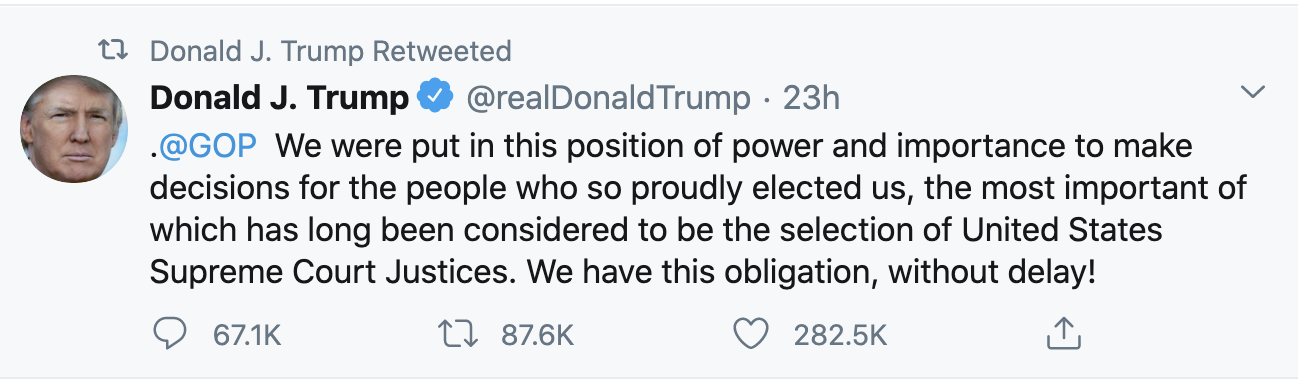 Screen-Shot-2020-09-20-at-8.22.39-AM Trump Fires-Off 14 Deranged Tweets During Sunday Morning Meltdown Conspiracy Theory Election 2020 Featured Politics Top Stories