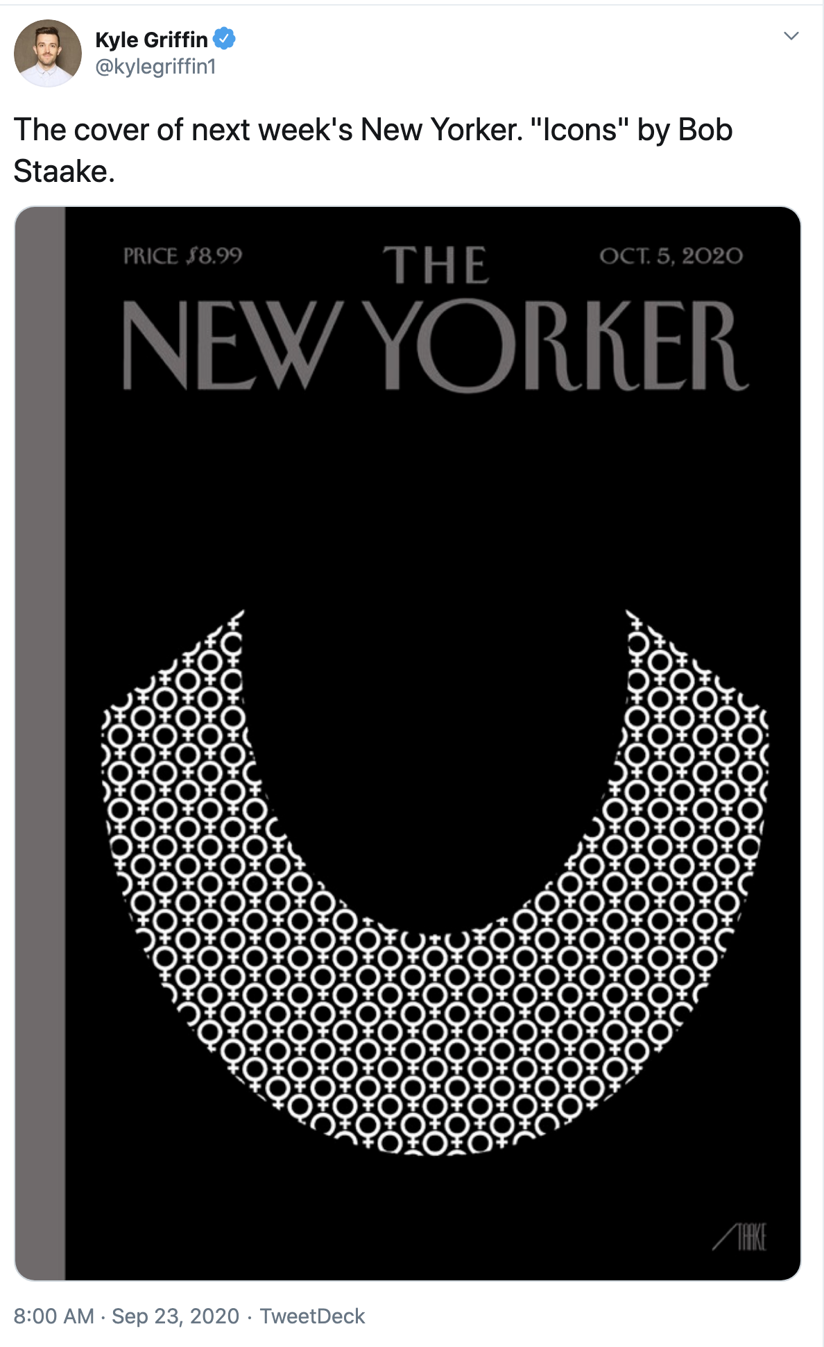 Screen-Shot-2020-09-23-at-8.22.25-AM 'New Yorker' Magazine Honors RBG With Tear-Jerking Cover Image Featured Politics Supreme Court Top Stories Women's Rights