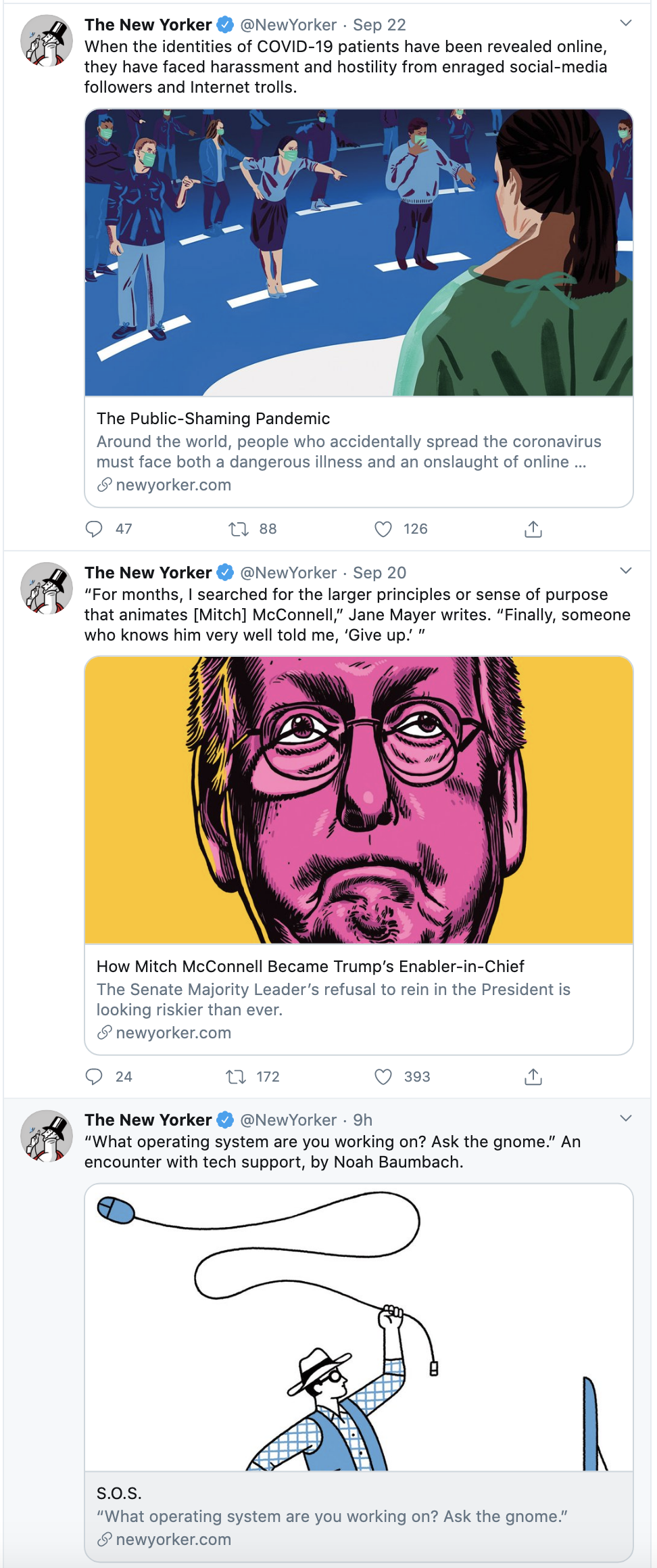 Screen-Shot-2020-09-23-at-8.24.40-AM 'New Yorker' Magazine Honors RBG With Tear-Jerking Cover Image Featured Politics Supreme Court Top Stories Women's Rights
