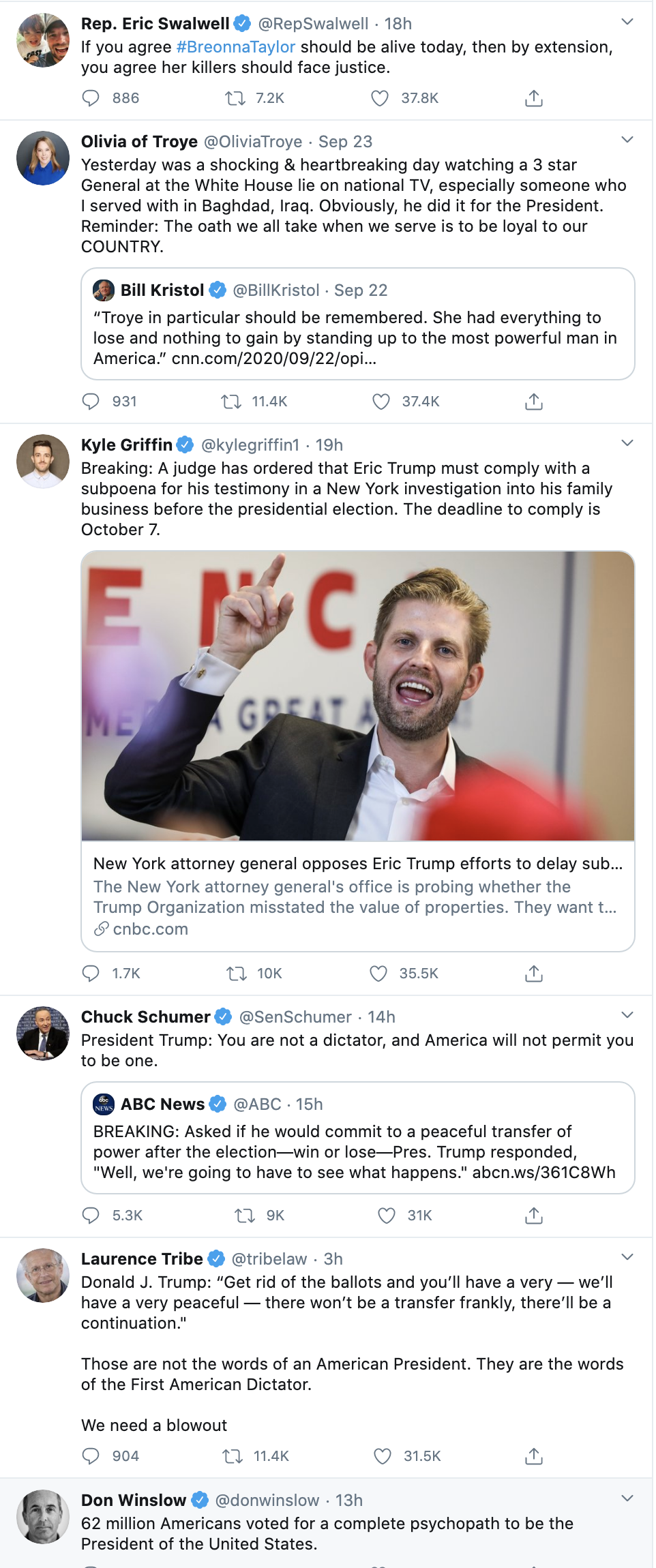 Screen-Shot-2020-09-24-at-9.20.12-AM 'The Lincoln Project' Issues Direct Threat To Trump: 'We Are Watching' Corruption Election 2020 Politics Top Stories