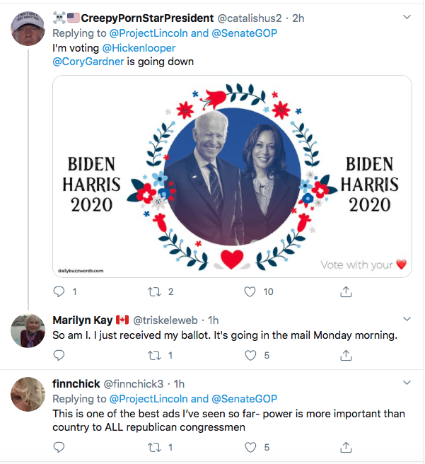 Screen-Shot-2020-09-25-at-6.32.29-PM 'The Lincoln Project' Whacks Trump & GOP With Weekend Video Release Donald Trump Election 2020 Featured Politics Top Stories Twitter Videos