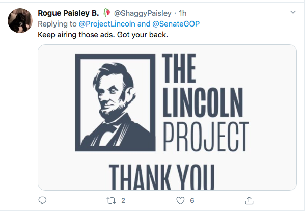 Screen-Shot-2020-09-25-at-6.34.01-PM 'The Lincoln Project' Whacks Trump & GOP With Weekend Video Release Donald Trump Election 2020 Featured Politics Top Stories Twitter Videos
