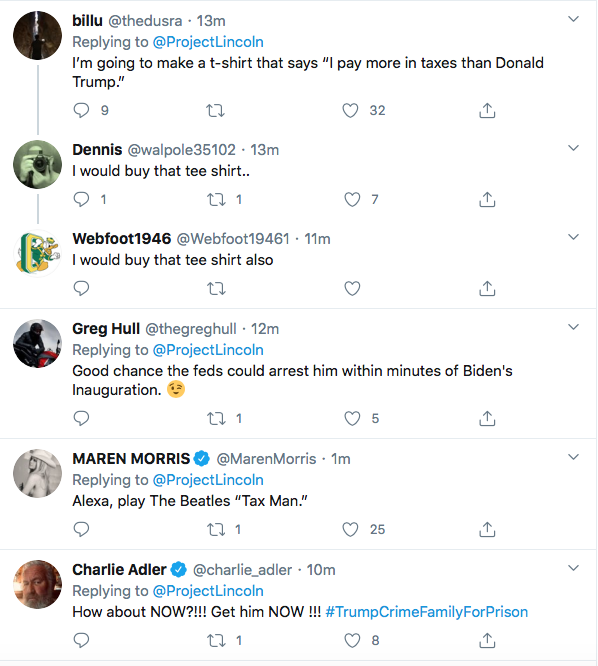 Screen-Shot-2020-09-27-at-7.08.28-PM 'The Lincoln Project' Embarrasses Trump Over NY Times Tax Leak Donald Trump Election 2020 Featured Politics Top Stories Twitter