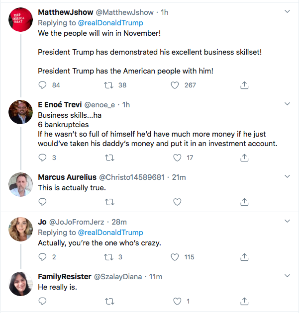 Screen-Shot-2020-09-30-at-3.39.57-PM Trump Spazzes Into Wildly Unhinged Afternoon Tweet Storm Over Debate Failure Donald Trump Election 2020 Featured Politics Top Stories Twitter