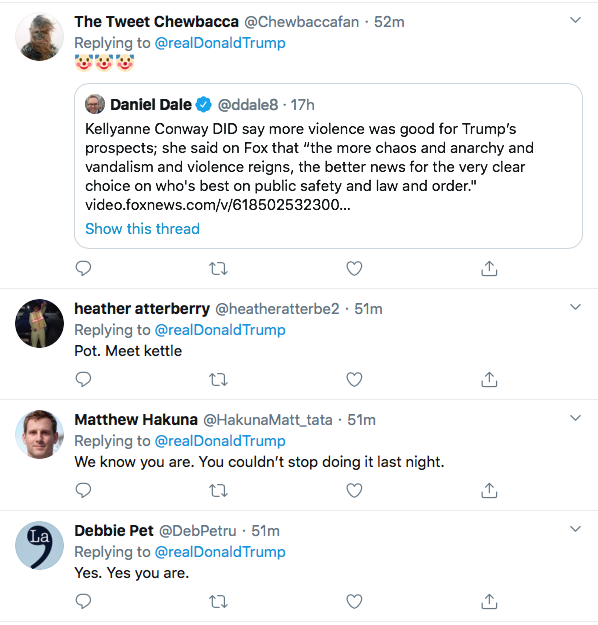 Screen-Shot-2020-09-30-at-3.45.28-PM Trump Spazzes Into Wildly Unhinged Afternoon Tweet Storm Over Debate Failure Donald Trump Election 2020 Featured Politics Top Stories Twitter