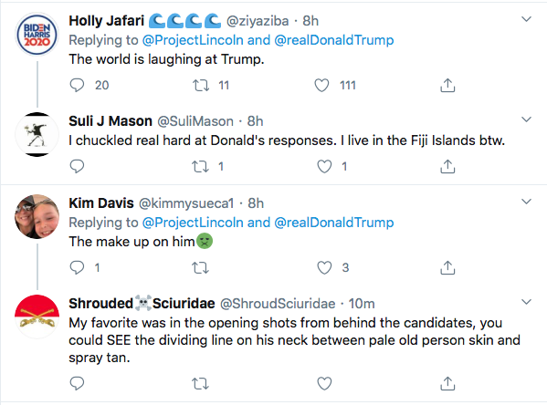 Screen-Shot-2020-09-30-at-9.50.42-AM 'The Lincoln Project' Hits Trump With Post-Debate Video Masterpiece Donald Trump Election 2020 Featured Politics Top Stories Twitter Videos