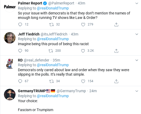 Screenshot-2020-09-10-at-10.59.14-AM Trump Threatens Americans With Violence During Mid-Morning Meltdown Donald Trump Election 2020 Politics Racism Social Media Top Stories
