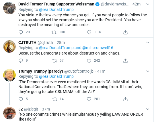 Screenshot-2020-09-10-at-10.59.25-AM Trump Threatens Americans With Violence During Mid-Morning Meltdown Donald Trump Election 2020 Politics Racism Social Media Top Stories
