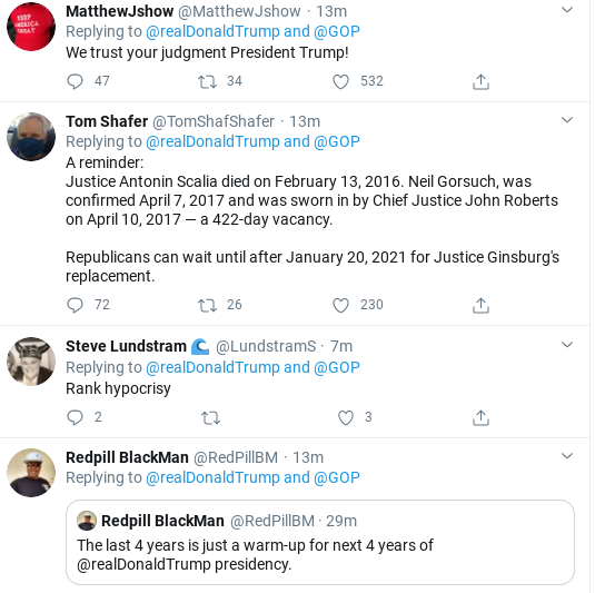 Screenshot-2020-09-19-at-10.26.03-AM Trump Breaks Morning Silence With Horrifying RBG Replacement News Corruption Donald Trump Election 2020 Politics Supreme Court Top Stories