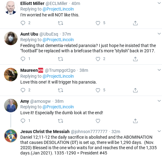 Screenshot-2020-09-26-at-4.43.14-PM 'The Lincoln Project' Smokes Trump With Viral Weekend Take-Down Donald Trump Election 2020 Politics Social Media Top Stories