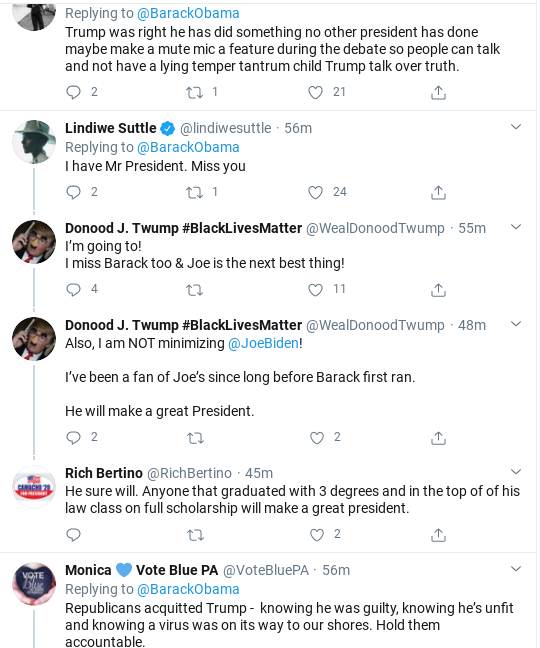 Screenshot-2020-09-30-at-5.16.18-PM Obama Issues Post-Debate Rallying-Cry To America Donald Trump Election 2020 Politics Social Media Top Stories
