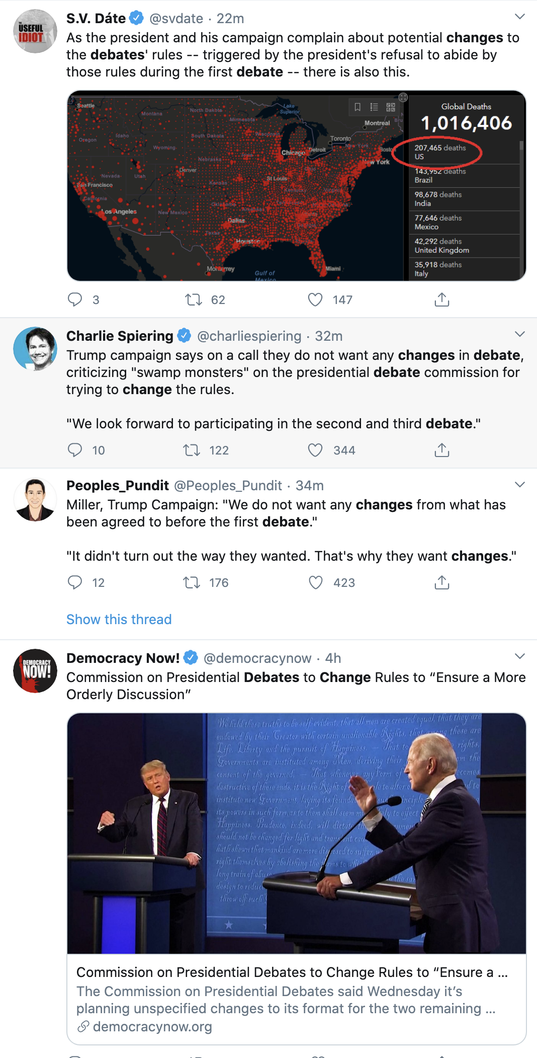 Screen-Shot-2020-10-01-at-3.17.24-PM Trump Has Thursday Afternoon Hissy-Fit Over Debate Failure Election 2020 Featured Politics Public Safety Top Stories