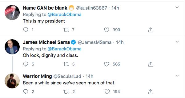 Screen-Shot-2020-10-03-at-9.50.21-AM Obama Tweets Weekend Leadershjip Message To America As Trump Flounders Coronavirus Election 2020 Featured Politics Top Stories Twitter