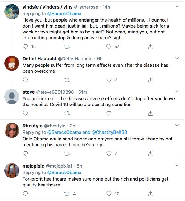 Screen-Shot-2020-10-03-at-9.51.22-AM Obama Tweets Weekend Leadershjip Message To America As Trump Flounders Coronavirus Election 2020 Featured Politics Top Stories Twitter
