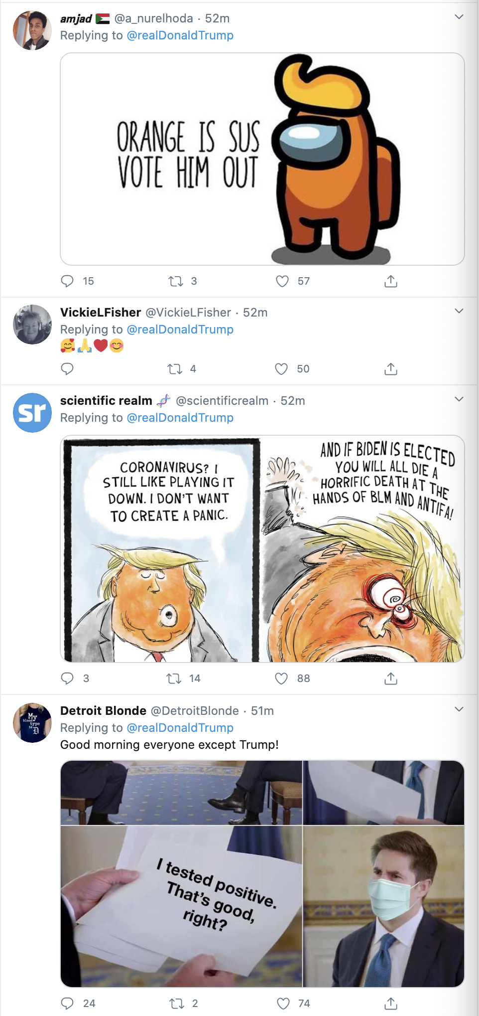 Screen-Shot-2020-10-04-at-7.12.11-AM Trump Tweets Thanks To Supporters From Walter Reed Hospital Coronavirus Election 2020 Featured Politics Top Stories