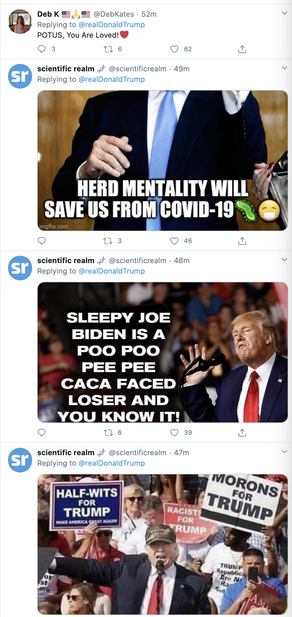 Screen-Shot-2020-10-04-at-7.13.11-AM Trump Tweets Thanks To Supporters From Walter Reed Hospital Coronavirus Election 2020 Featured Politics Top Stories