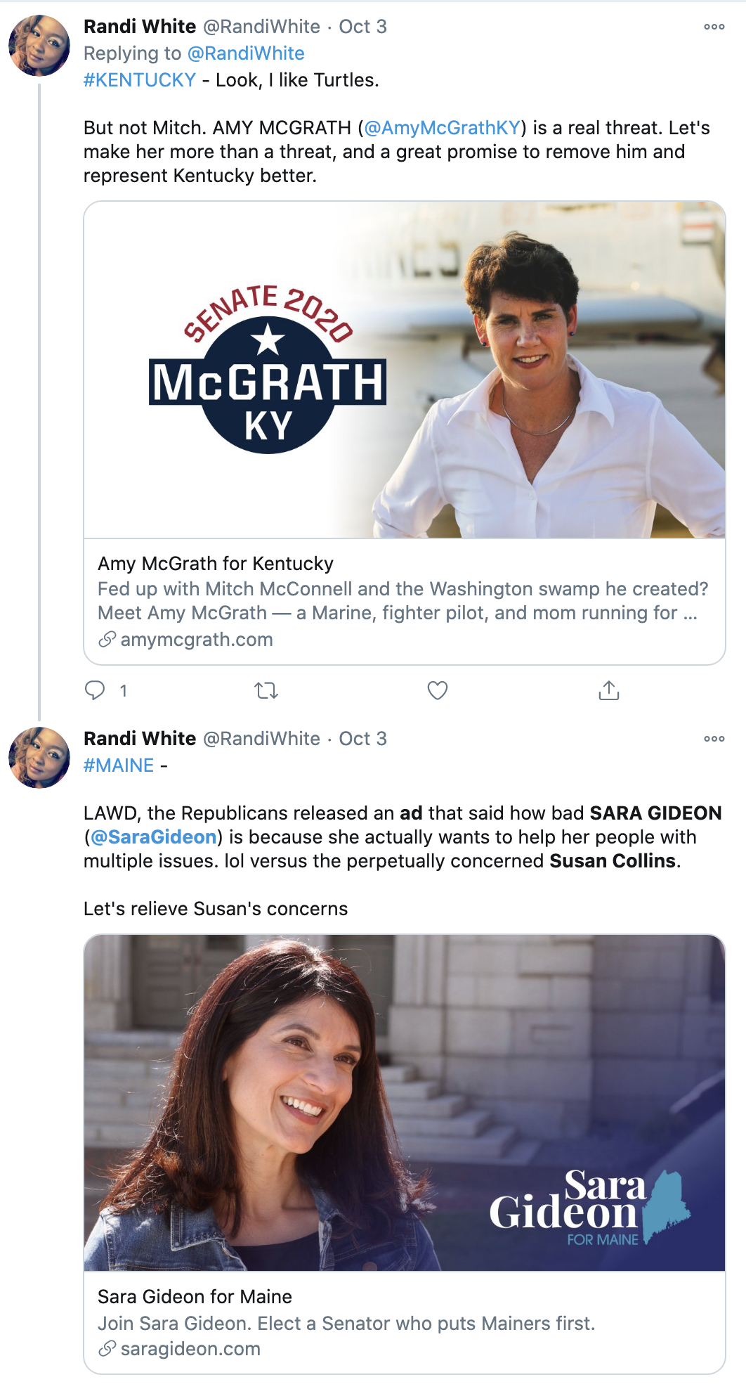 Screen-Shot-2020-10-07-at-11.01.18-AM Phony Susan Collins Publicly Hits Trump Over COVID Leadership Failure Election 2020 Featured Feminism Politics Top Stories