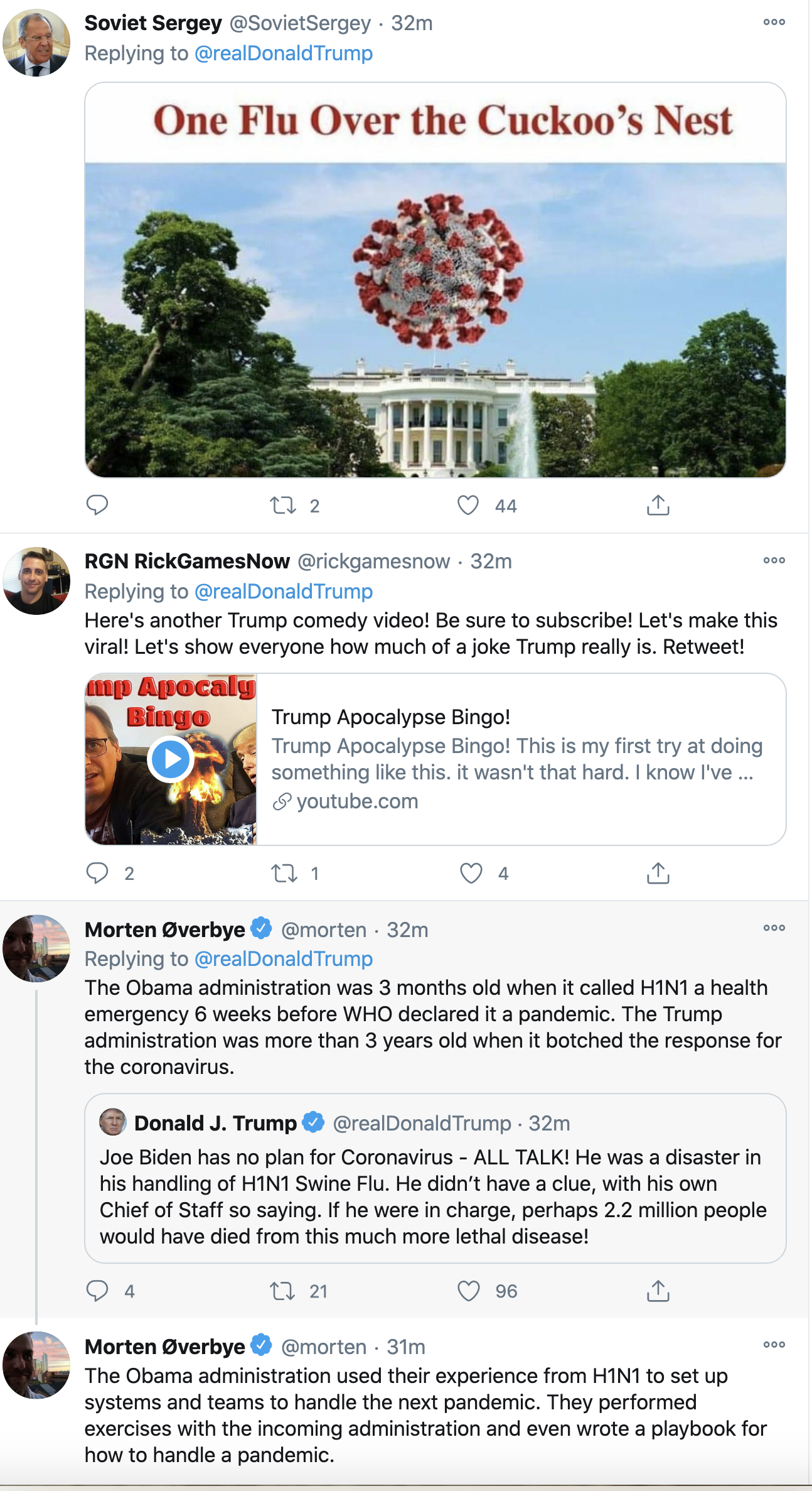 Screen-Shot-2020-10-08-at-2.33.00-PM Trump Rage Tweets Afternoon Panic Attack After Biden Surges In Polls Coronavirus Election 2020 Featured Politics Top Stories