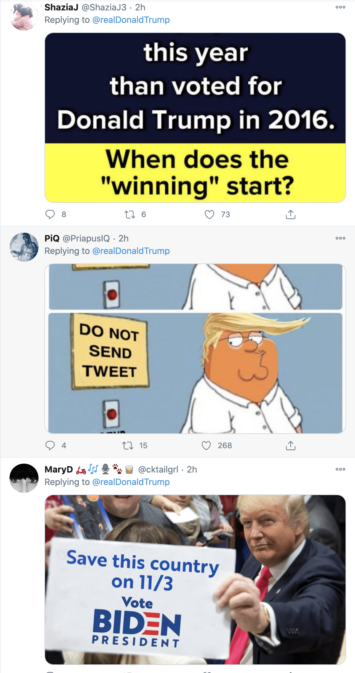 Screen-Shot-2020-10-12-at-10.03.01-AM Trump Live Tweets His Mental Collapse During SCOTUS Confirmation Hearing Crime Election 2020 Featured Politics Top Stories