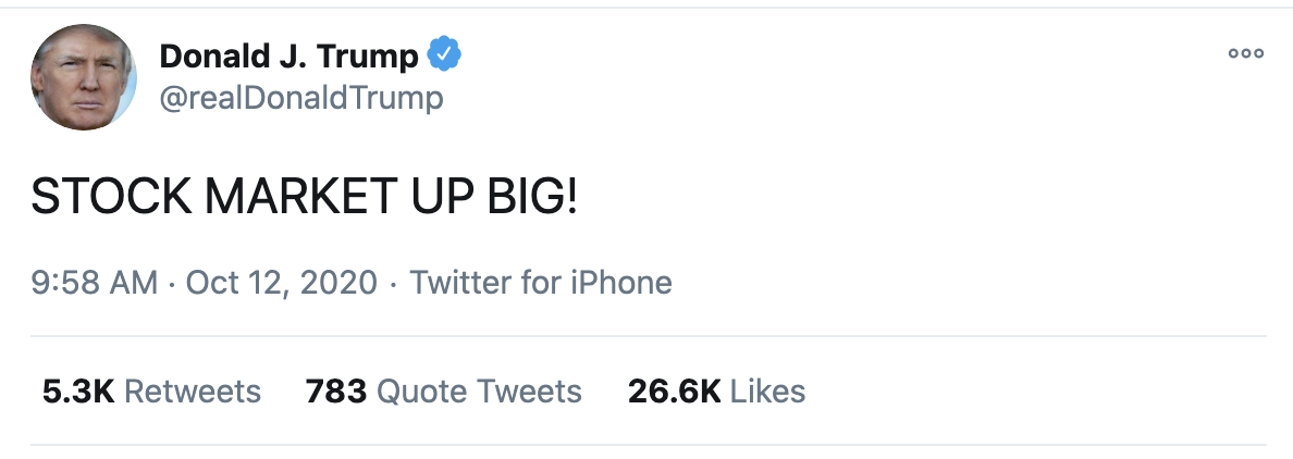 Screen-Shot-2020-10-12-at-10.15.57-AM Trump Live Tweets His Mental Collapse During SCOTUS Confirmation Hearing Crime Election 2020 Featured Politics Top Stories