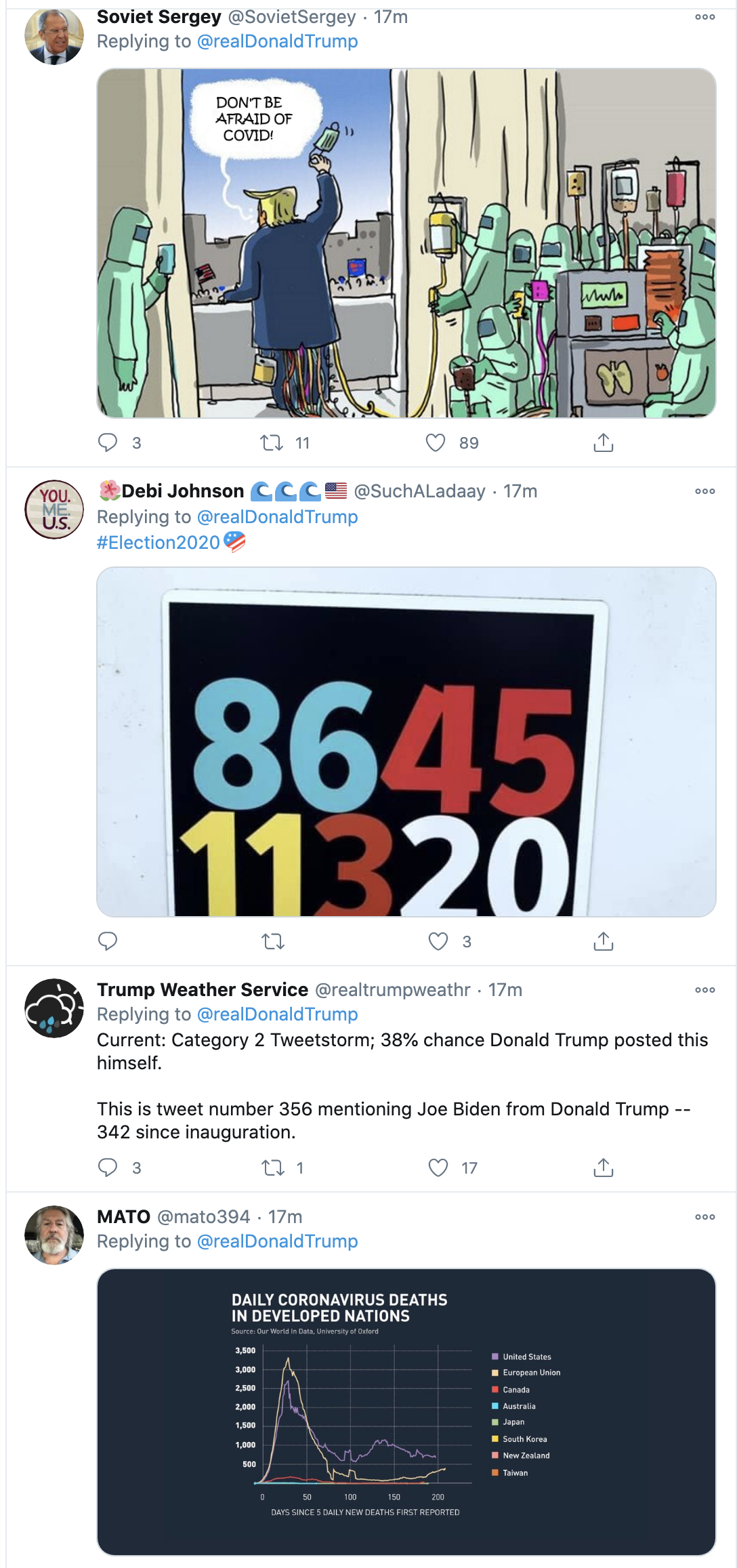 Screen-Shot-2020-10-12-at-3.19.37-PM Trump Spazzes Into Deranged 12-Tweet Afternoon Meltdown After Seeing SCOTUS Hearing Election 2020 Featured Feminism Politics Top Stories