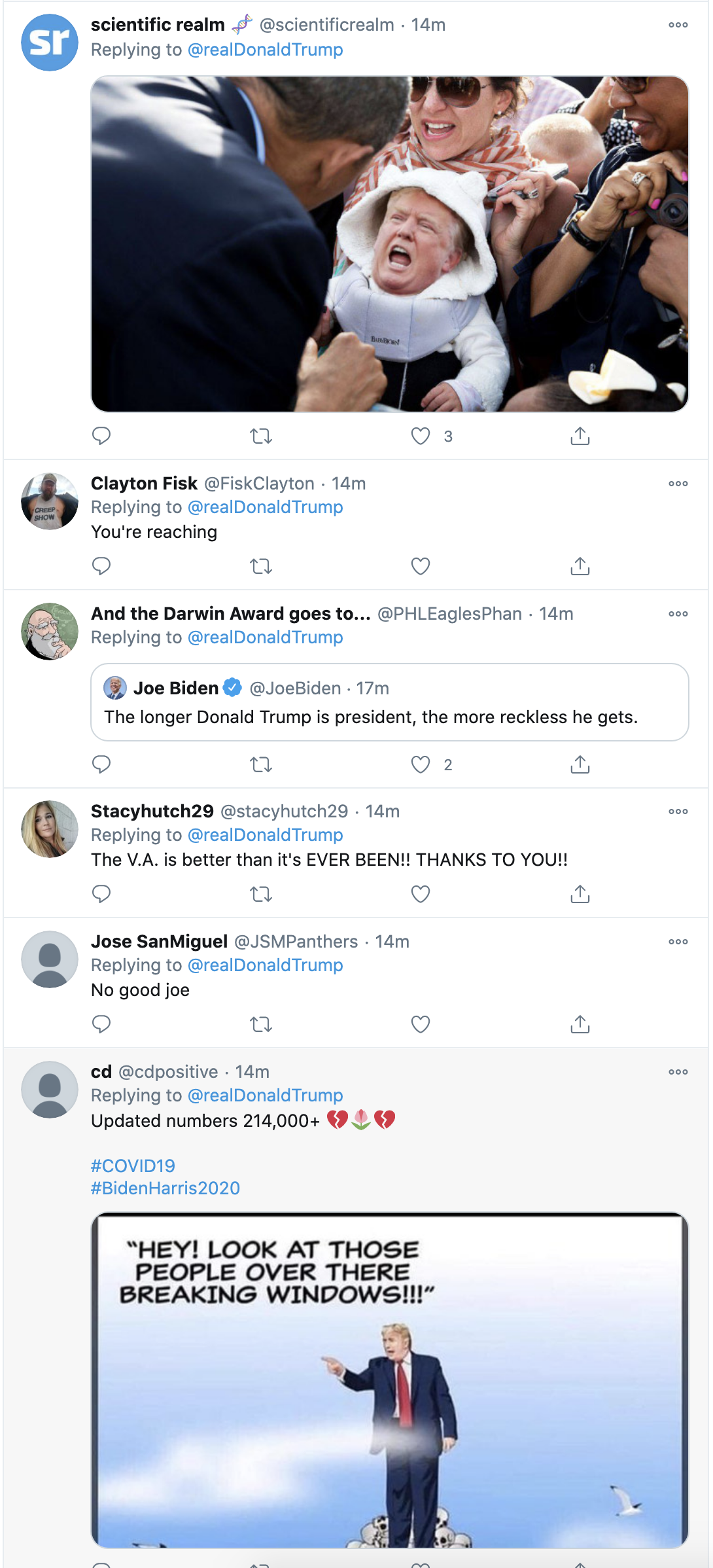 Screen-Shot-2020-10-12-at-3.21.20-PM Trump Spazzes Into Deranged 12-Tweet Afternoon Meltdown After Seeing SCOTUS Hearing Election 2020 Featured Feminism Politics Top Stories