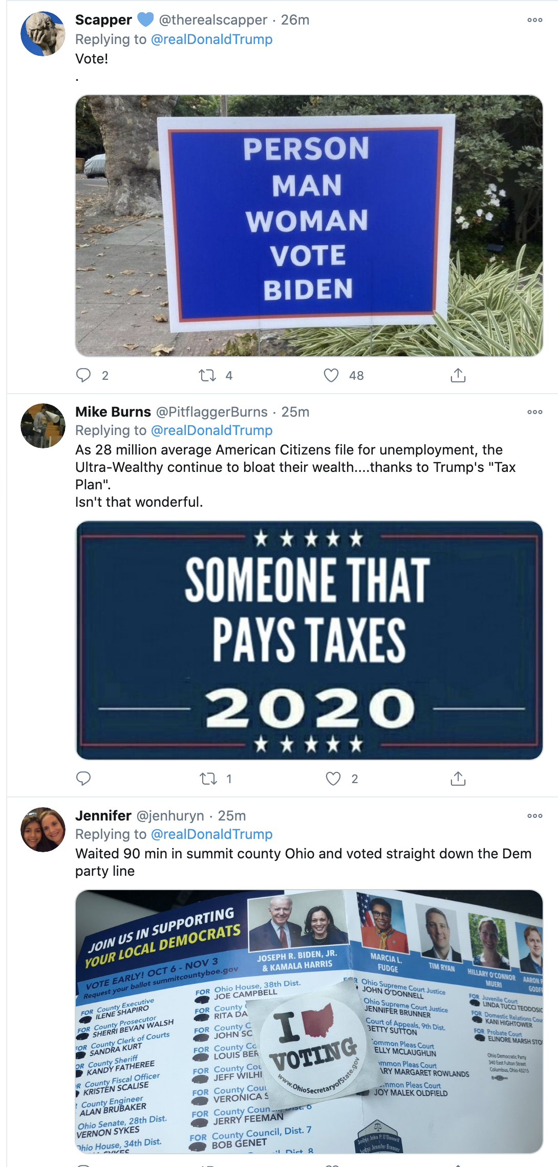 Screen-Shot-2020-10-12-at-3.22.00-PM Trump Spazzes Into Deranged 12-Tweet Afternoon Meltdown After Seeing SCOTUS Hearing Election 2020 Featured Feminism Politics Top Stories