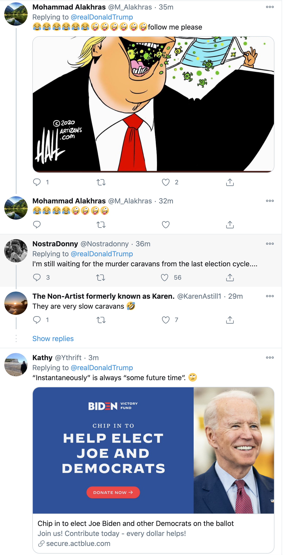 Screen-Shot-2020-10-12-at-7.08.15-AM Trump Fires Off 16-Tweet Morning Mega-Rant Like A Desperate Old Man Crime Election 2020 Featured Politics Top Stories