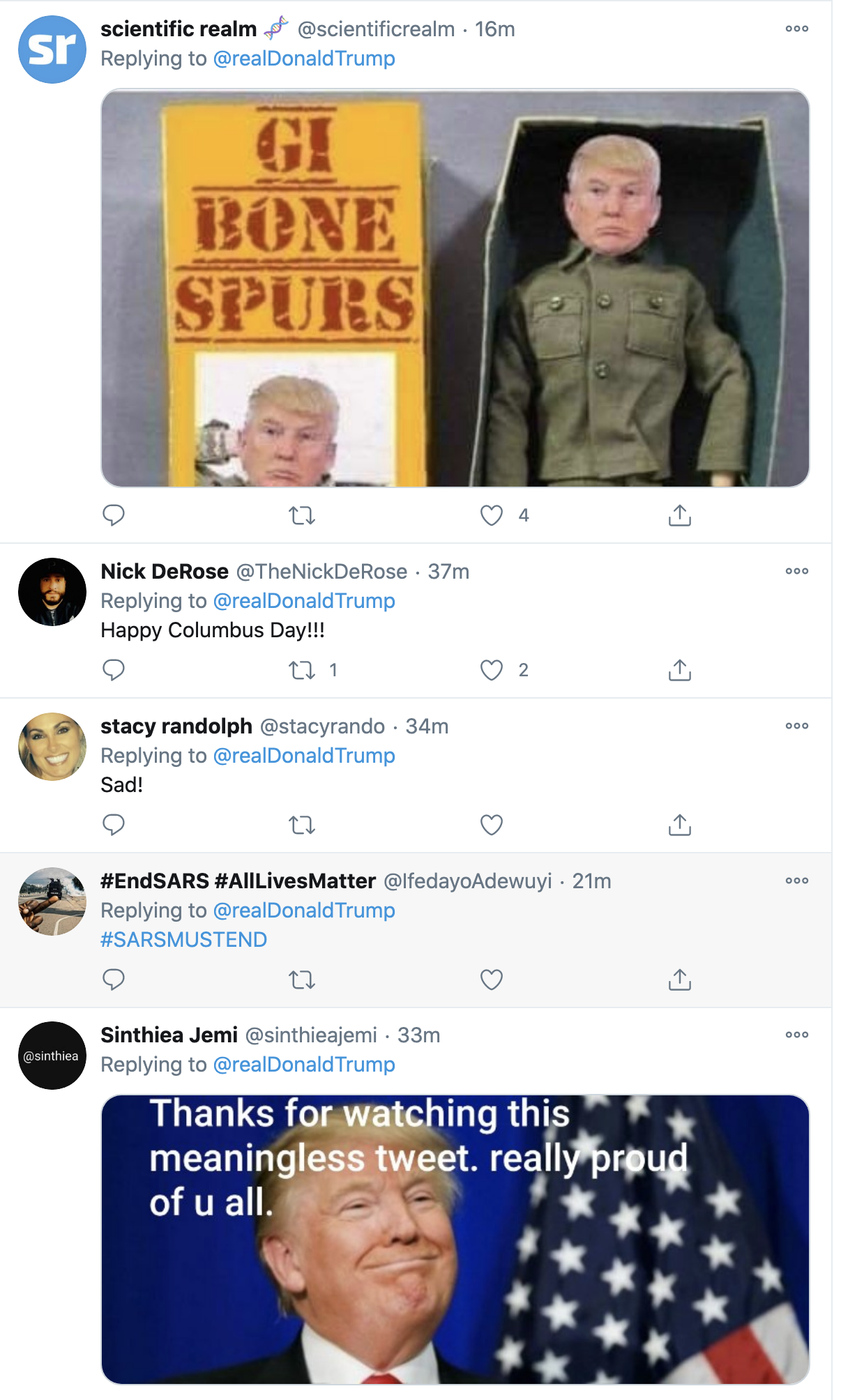 Screen-Shot-2020-10-12-at-7.08.41-AM Trump Fires Off 16-Tweet Morning Mega-Rant Like A Desperate Old Man Crime Election 2020 Featured Politics Top Stories