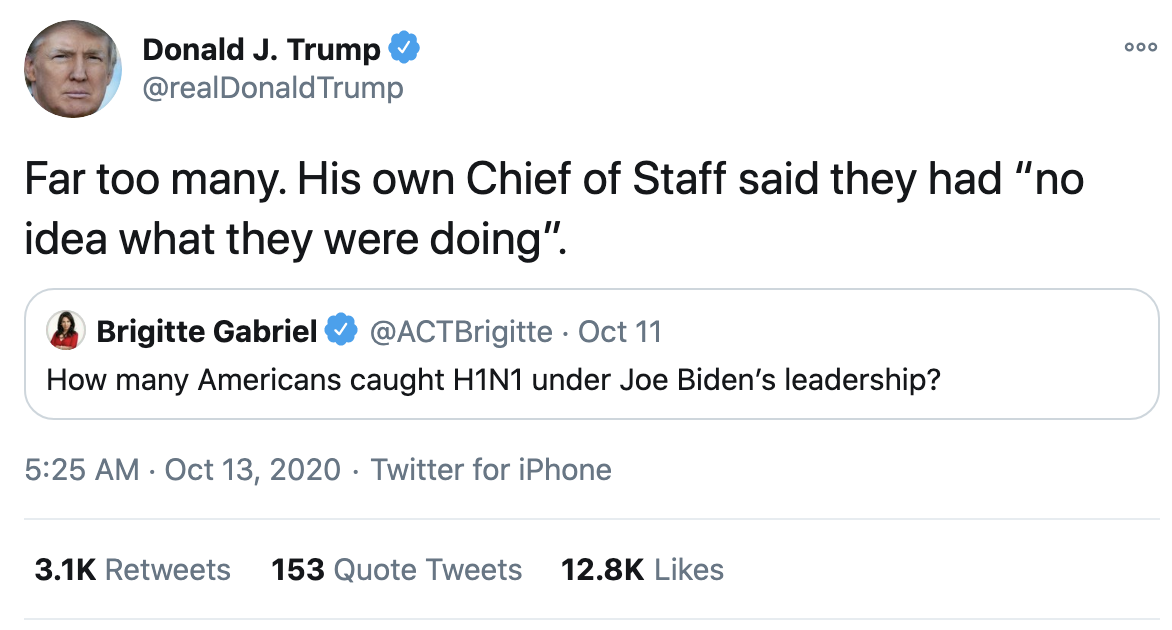 Screen-Shot-2020-10-13-at-7.09.18-AM Trump Fires Off 15-Tweet Morning Mega Rant Like A Delirious Old Man Election 2020 Featured Mental Illness Politics Top Stories