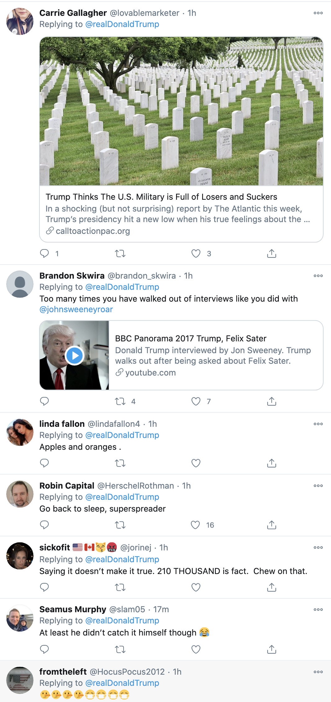 Screen-Shot-2020-10-13-at-7.17.01-AM Trump Fires Off 15-Tweet Morning Mega Rant Like A Delirious Old Man Election 2020 Featured Mental Illness Politics Top Stories