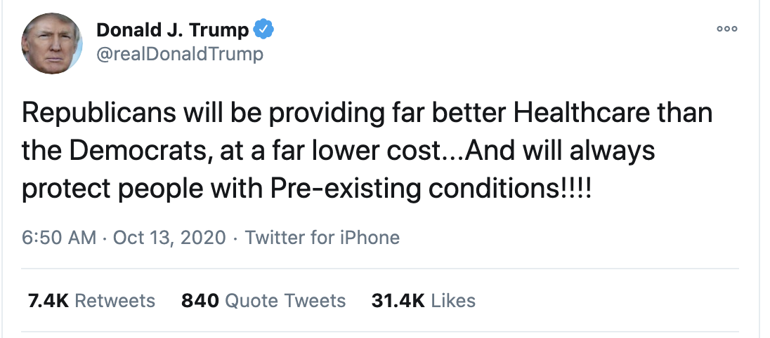 Screen-Shot-2020-10-13-at-7.29.14-AM Trump Fires Off 15-Tweet Morning Mega Rant Like A Delirious Old Man Election 2020 Featured Mental Illness Politics Top Stories