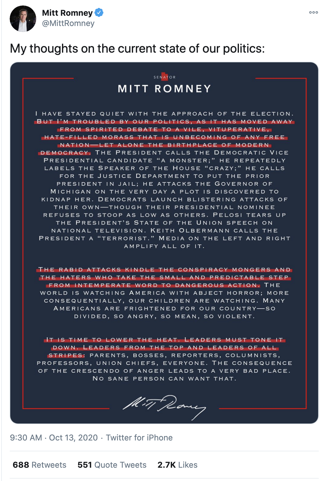 Screen-Shot-2020-10-13-at-9.43.35-AM Mitt Romney Eviscerates Trump & GOP During Amy Barrett Hearing Corruption Election 2020 Featured Top Stories