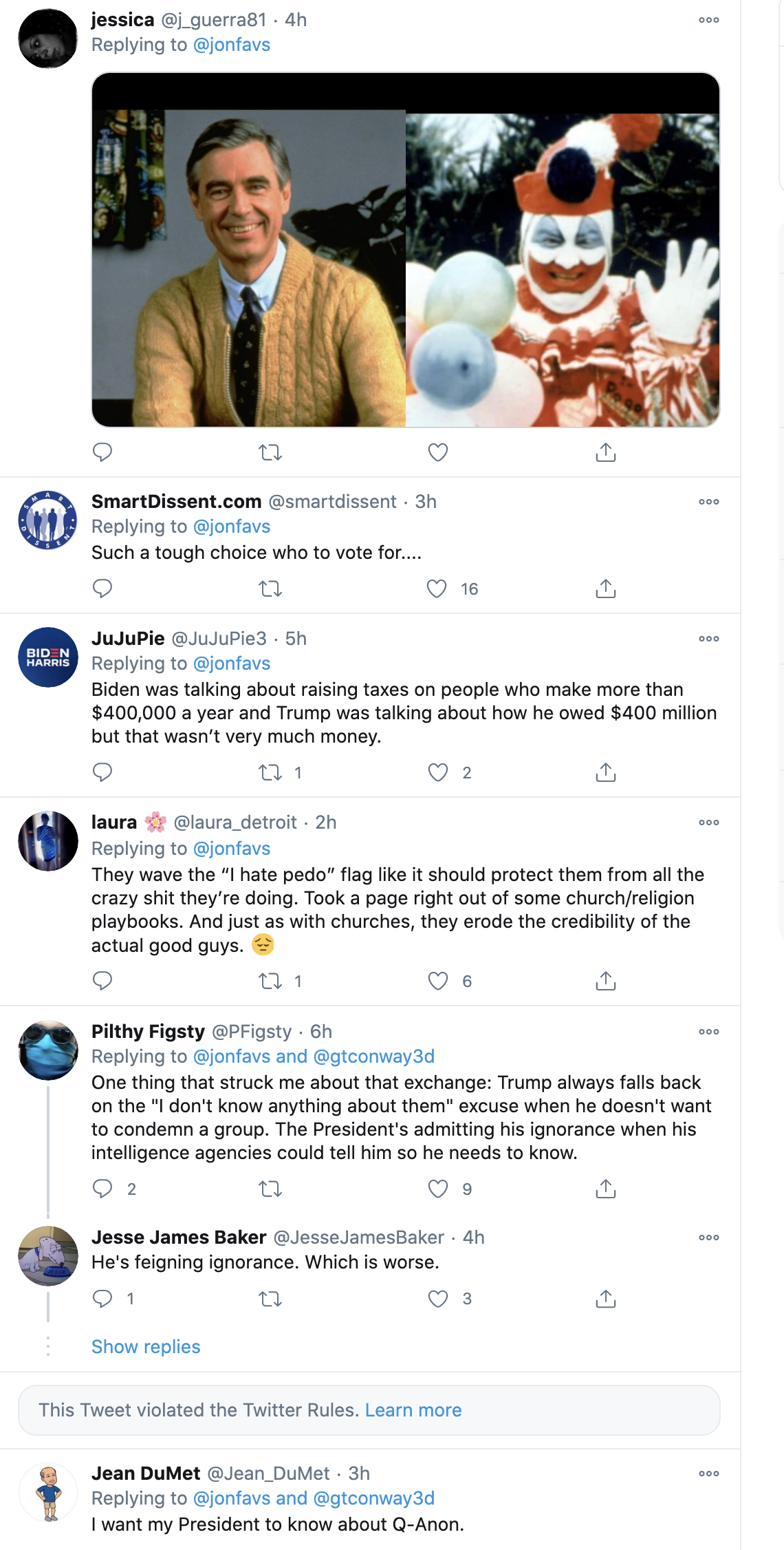 Screen-Shot-2020-10-16-at-9.36.25-AM Ratings From Trump & Biden Town Halls Have GOP Running Scared Election 2020 Featured Politics Television Top Stories