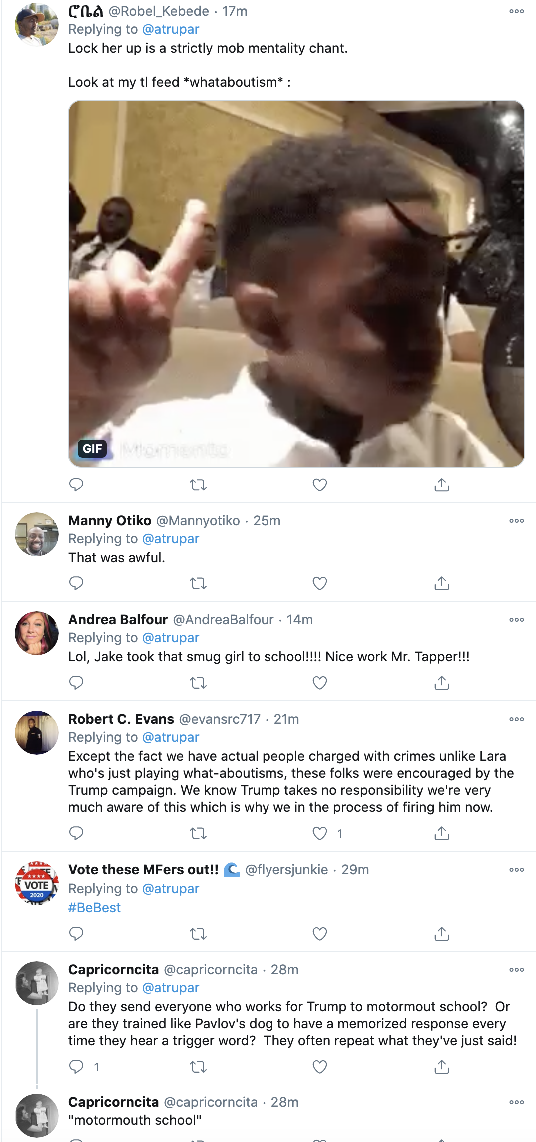 Screen-Shot-2020-10-18-at-8.49.05-AM Lara Trump Makes A Fool Of Herself During 'CNN Sunday' Meltdown Donald Trump Election 2020 Featured Politics Top Stories