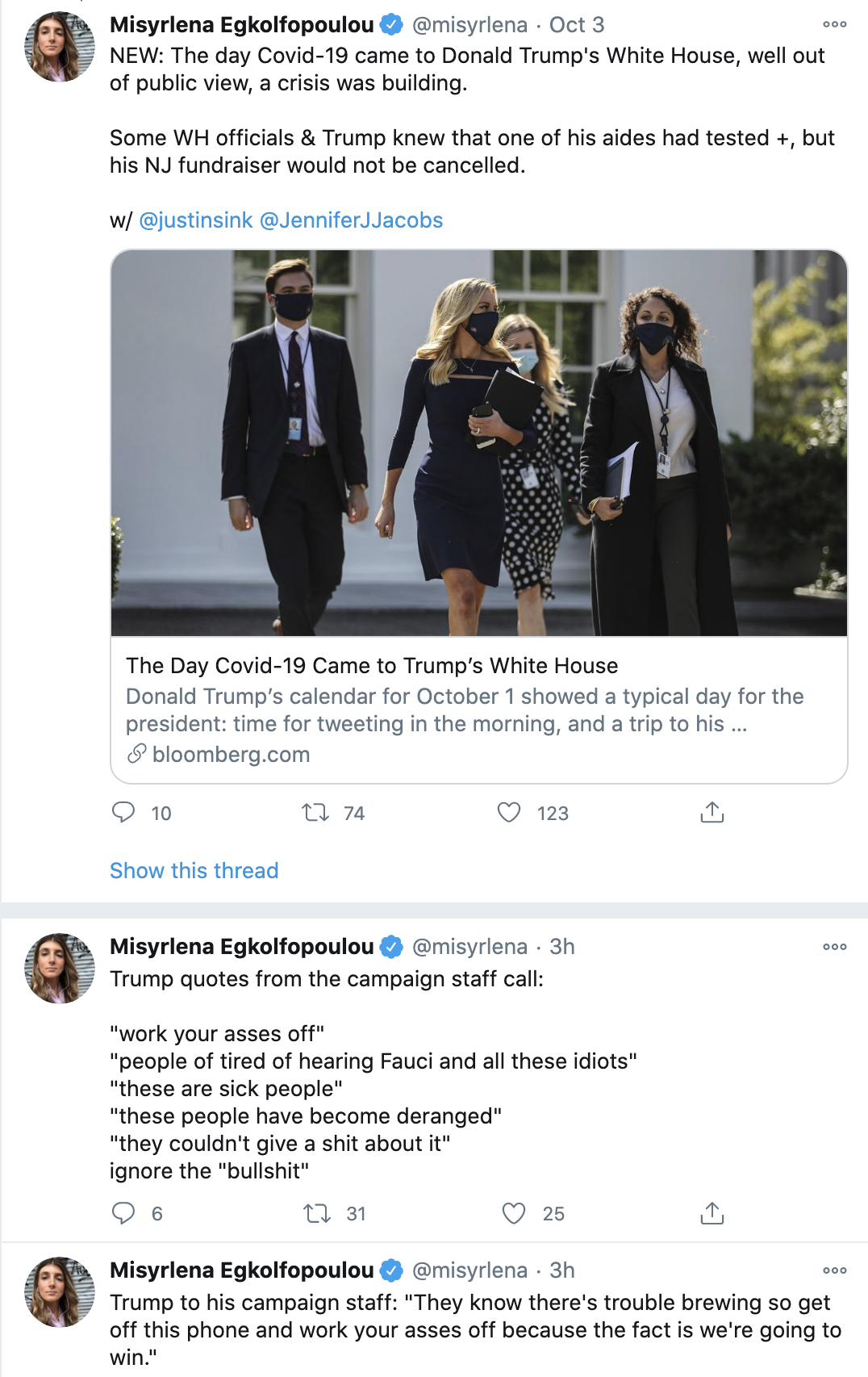 Screen-Shot-2020-10-19-at-1.58.58-PM Trump Erupts At Campaign Staffers: 'Ignore The B*llsh*t' Coronavirus Election 2020 Featured Politics Top Stories