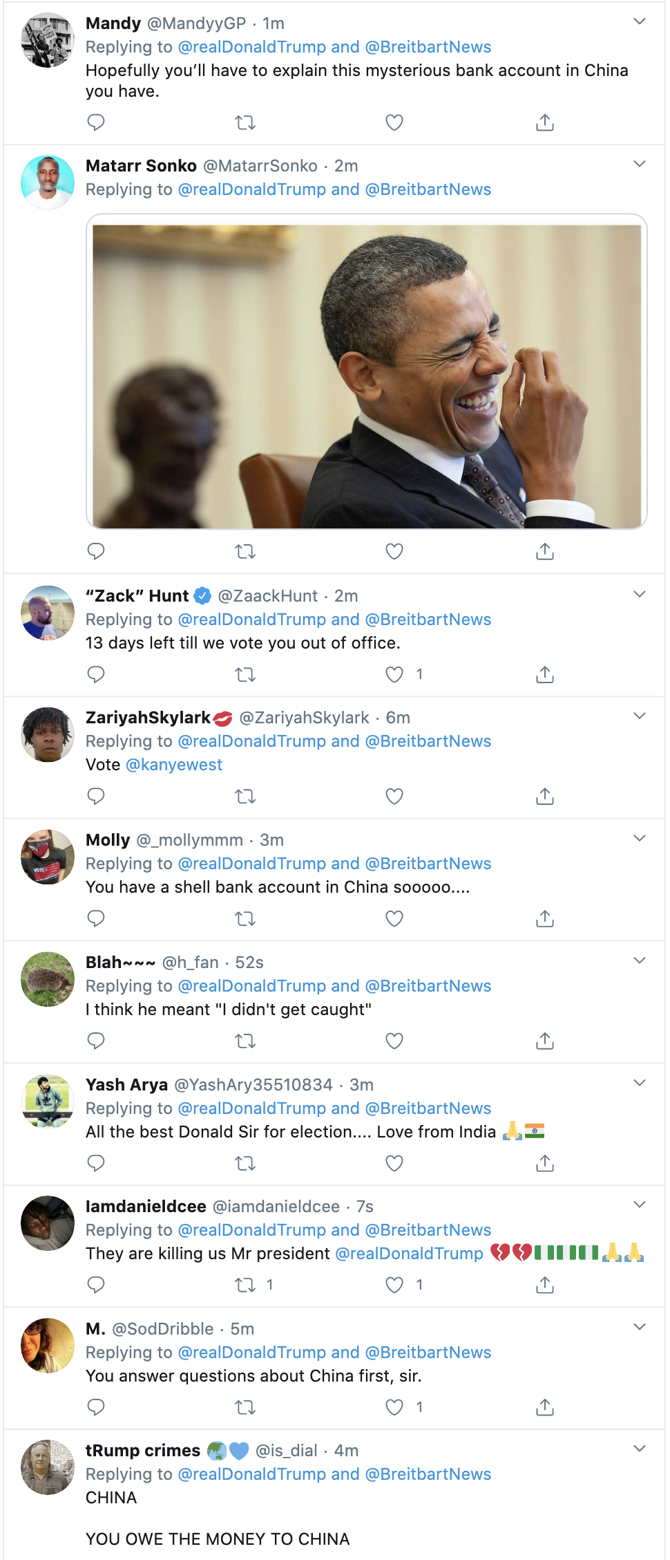 Screen-Shot-2020-10-21-at-7.13.47-AM Trump Snaps & Rage-Tweet Attacks Biden Like A Scared Old Man Election 2020 Featured Politics Top Stories