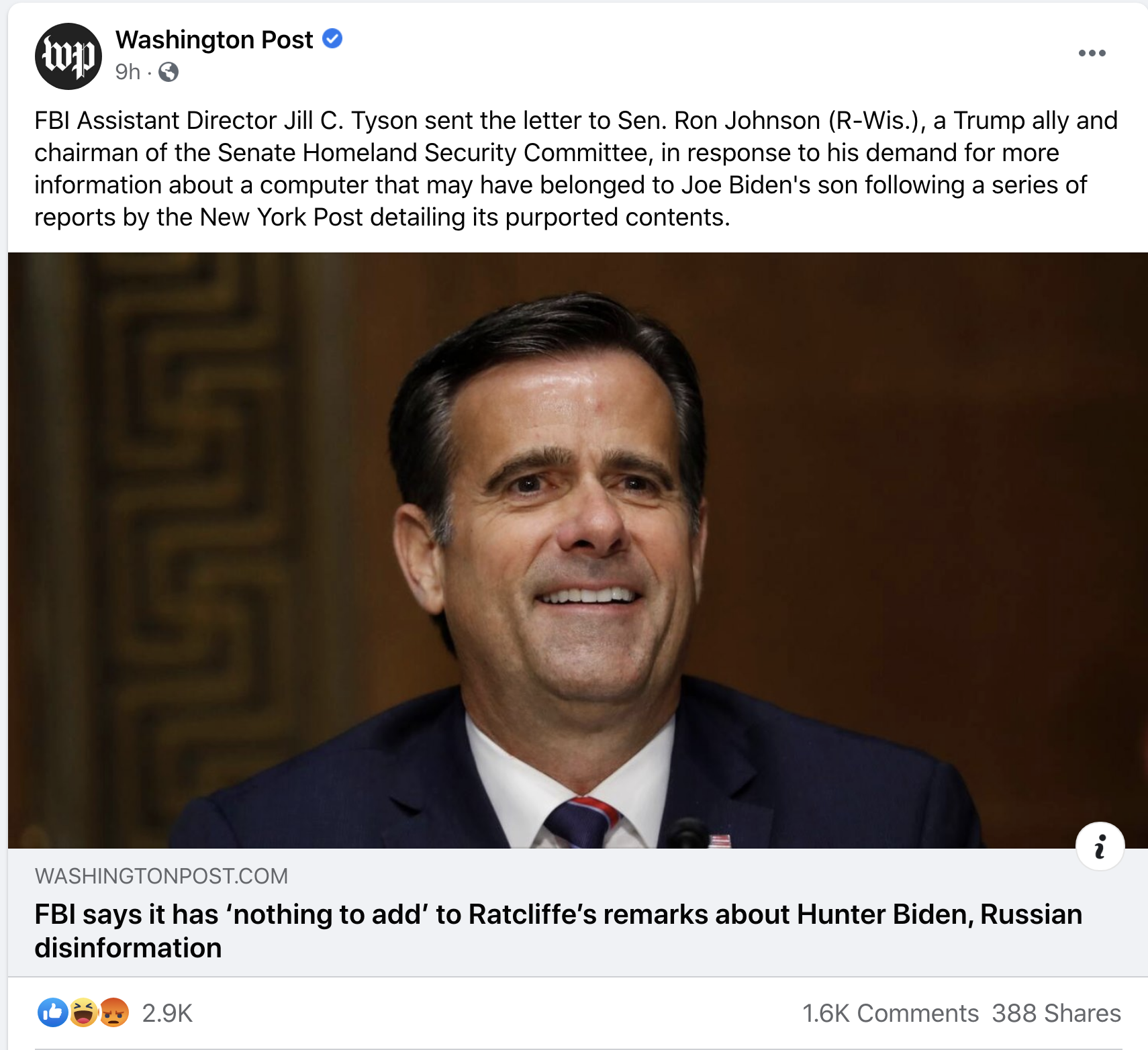 Screen-Shot-2020-10-21-at-8.44.02-AM FBI Assistant Director Embarrasses Trump Family Over Hunter Biden Laptop 'Scandal' Corruption Featured Politics Russia Top Stories