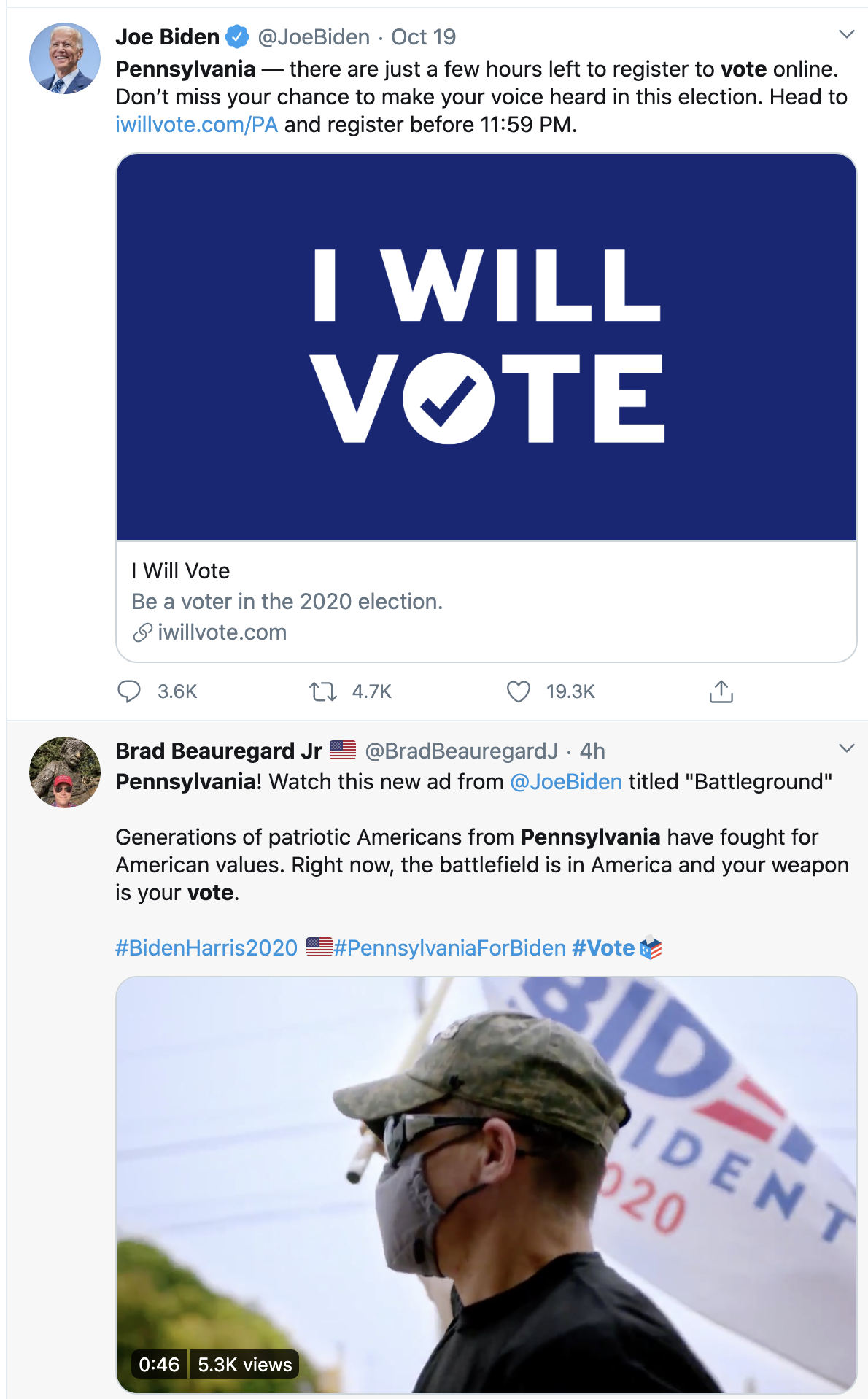 Screen-Shot-2020-10-23-at-11.39.17-AM New Swing State Early Voting Totals Confirm Explosive Blue Surge Coronavirus Election 2020 Featured Politics Top Stories