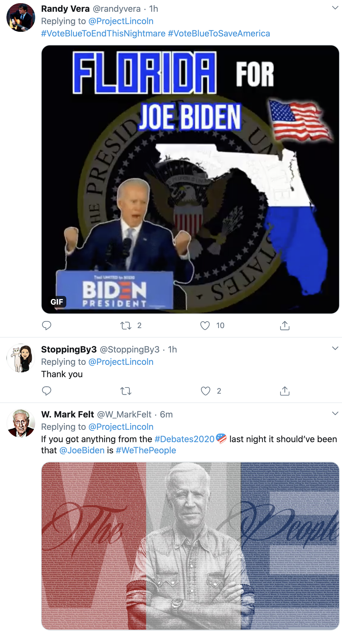Screen-Shot-2020-10-23-at-9.14.46-AM 'The Lincoln Project' Secures Florida For Biden With Trump Take-Down Coronavirus Economy Featured Politics Top Stories
