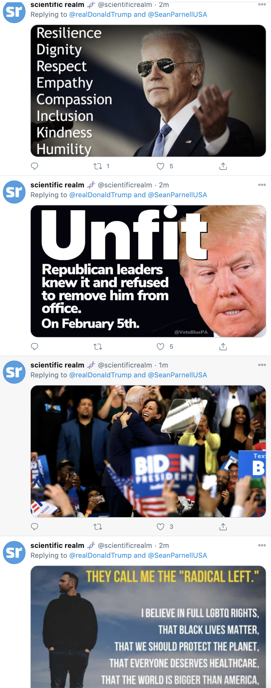 Screen-Shot-2020-10-25-at-7.07.52-AM Trump Charges Pennsylvania Governor With Voter Fraud During Sunday Meltdown Election 2020 Featured Military Politics Top Stories