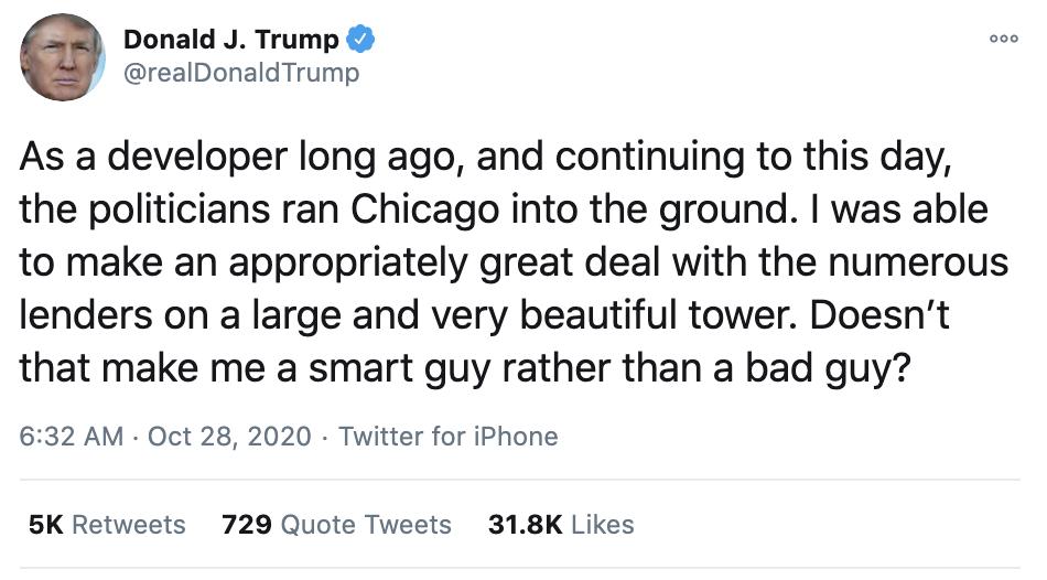Screen-Shot-2020-10-28-at-7.13.08-AM Trump Sees Morning News & Has Multi-Tweet Emotional Breakdown Coronavirus Featured Politics Supreme Court Top Stories