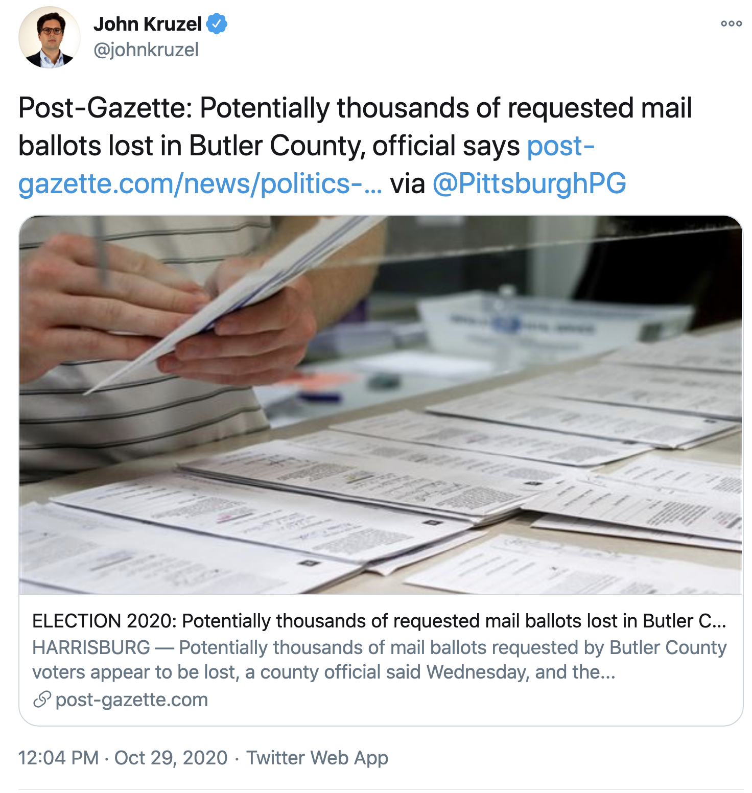 Screen-Shot-2020-10-29-at-1.59.27-PM Supreme Court Betrays Trump Again With Thursday  Mail Ballot Extension Featured Politics Top Stories