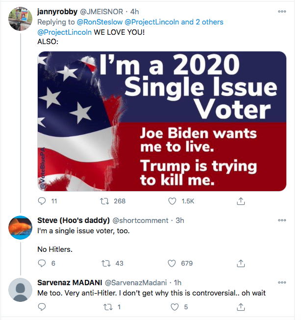 Screen-Shot-2020-10-30-at-9.04.09-PM Campaign To Shame Ivanka Trump Launched Via 'The Lincoln Project' Donald Trump Election 2020 Featured Politics Top Stories Twitter